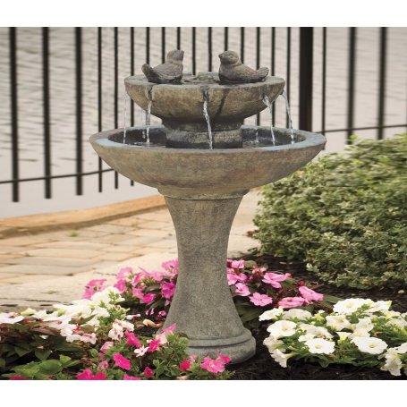 "Suihkulähde ""Tranquillity Spill Fountain With Birds"""
