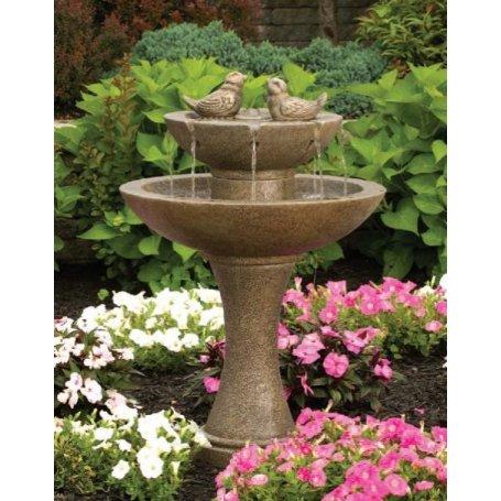"Suihkulähde ""Tranquillity Spill Fountain With Birds"" - 73"