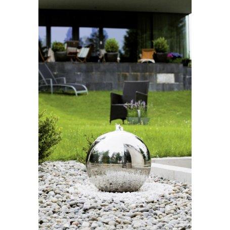 Ankara stainless - pallo suihkulähde 40 cm