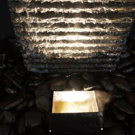 Bao II vesiseinä, liuskekiveä