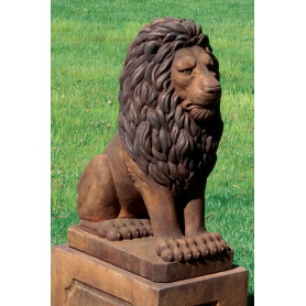 Eläinpatsas Leijona,  Grandessa Sitting Lion