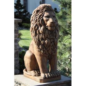 Iso eläinpatsas Leijona,  Grandessa Sitting Lion
