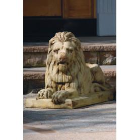 Eläinpatsas Leijona,  Classic Laydown Lion-Left