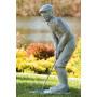 Patsas figuuri, golffari, Nostalgic Golfer-Man