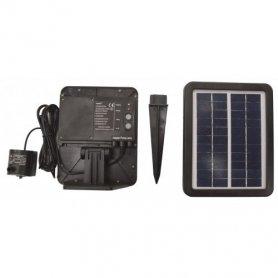 Solar 250 pumppu ja akku ja aurinkopaneeli