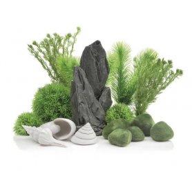 Stone Garden -koristepaketti 30L sisustusakvaarioon