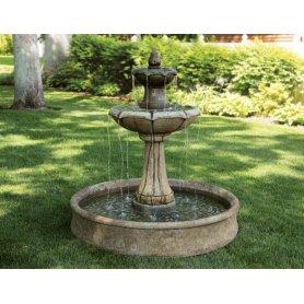 "Suihkulähde ""Medium Two Tier Charlotte Fountain with Pool"""