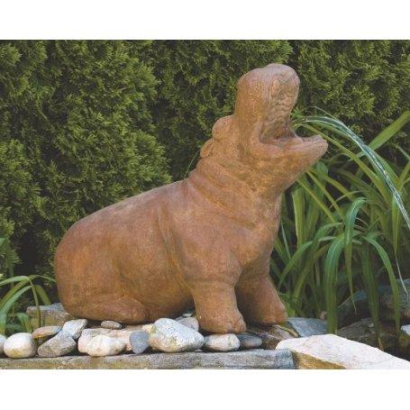 Eläinpatsas Virtahepo - Hippopotamus
