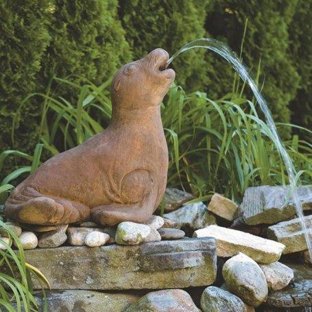 Eläinpatsas Hylje - Seal Plumbed