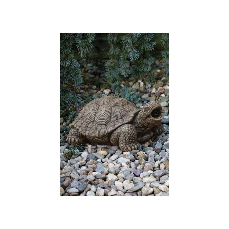 Eläinpatsas Kilpikonna L 24 cm