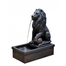 Leijonanpää muurissa, suihkulähde