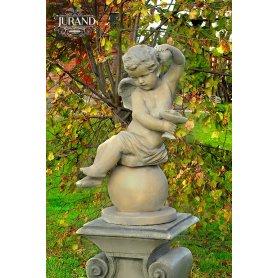 Figuuri patsas Pikku enkeli pallolla vasen/oikea