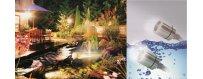 LED-Valaisimet veden alle ja päälle-Puutarhan ja suihkulähteen valaistus on parhaimmillaan kuin elävä taideteos.