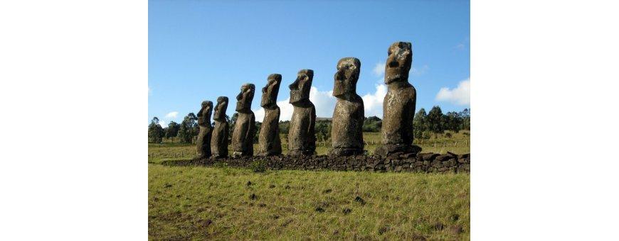 Pääsiäissaari ja mystiset moai-patsaat saat nyt edullisesti kotiin tuotuna. Laadukasta kiveä.
