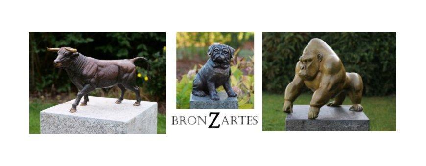 Pronssiset eläin patsaat - Enemmän kuin vain pronssia! Säänkestävää jalometallia patsaana. Sijoitus laatuun ja edustavuuteen